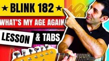 How-To-Play-What's-My-age-Again-By-Blink-182-Guitar-Lesson-Tutorial